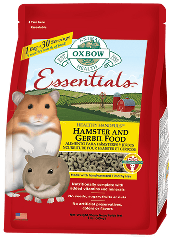Healthy Handfuls - Hamster and Gerbil Food / Nourriture pour hamster et gerbille