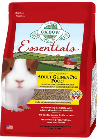 Essentials Adult Guinea Pig Food - Nourriture pour Cochon D'inde Adultes