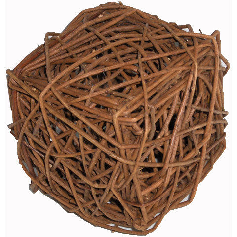 Unpeeled Willow Cube — Cube en tiges de saule
