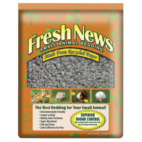 Fresh News Small Animal Bedding — Litière douce pour petits animaux Fresh News