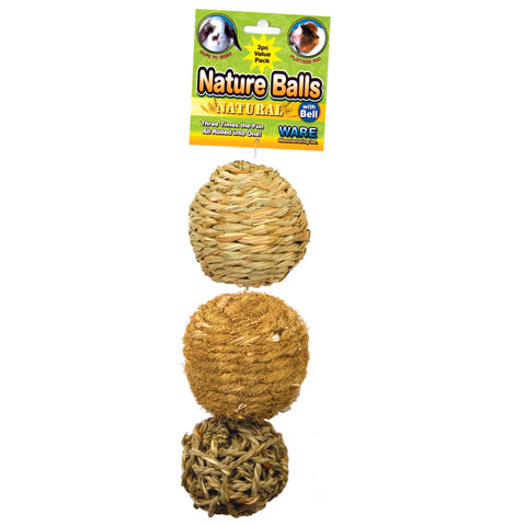 Nature Ball Value Pack 3pc — Paquet de 3 Balles Nature