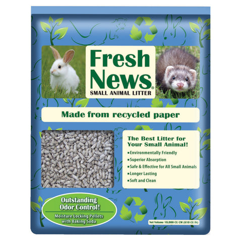 Fresh News Small Animal Litter — Litière pour petits animaux Fresh News