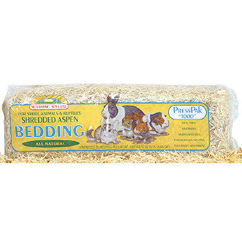 Shredded Aspen Bedding — Litière Shredded Aspen