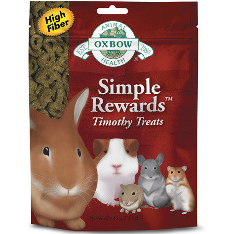 Simple Rewards Timothy Treats — Gâteries au foin Timothy