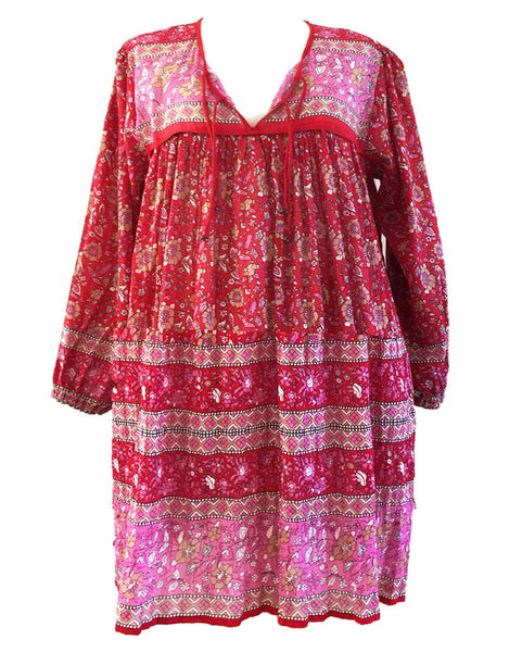 "Chowchilla Vintage Children's Gypset Dress ""Asha"" PRE-ORDER"