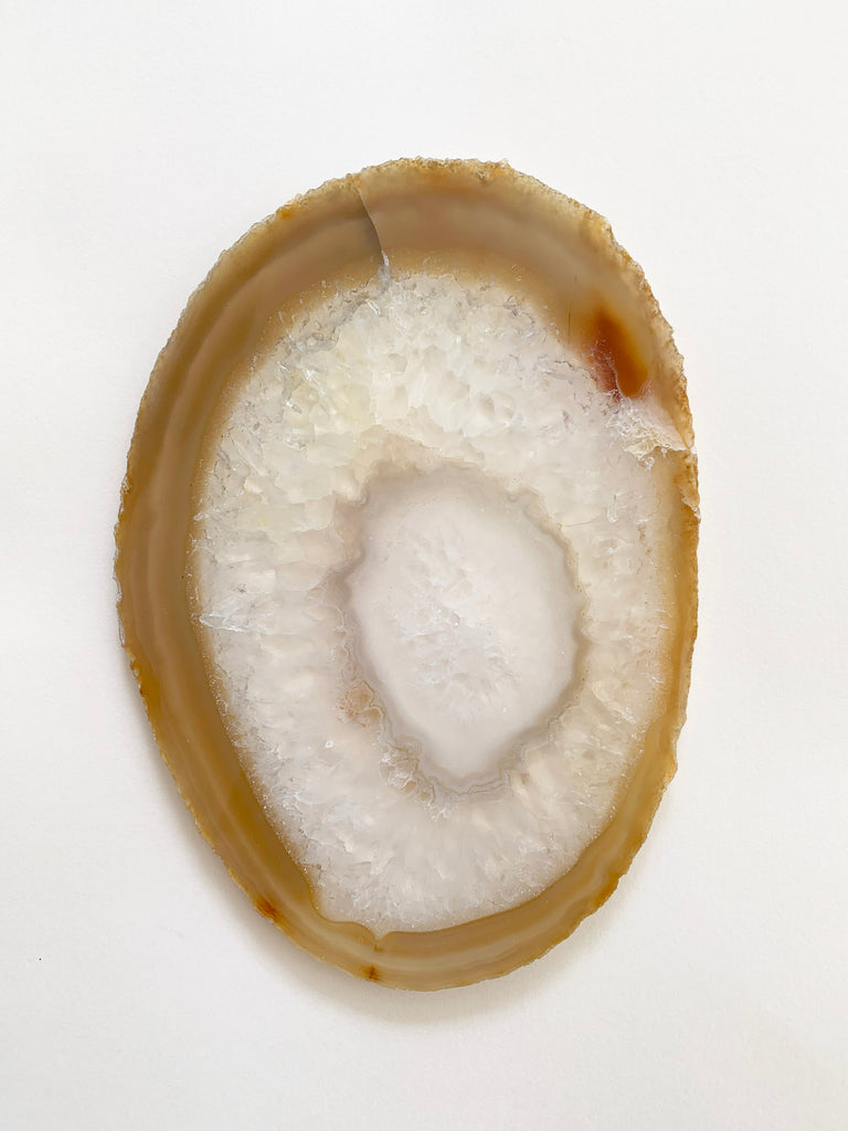 Agate Slice (Extra Large 18cm) • Slice no. 1
