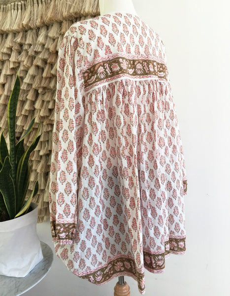 "Chowchilla Vintage Indian Gypset Blouse ""Amalia"""