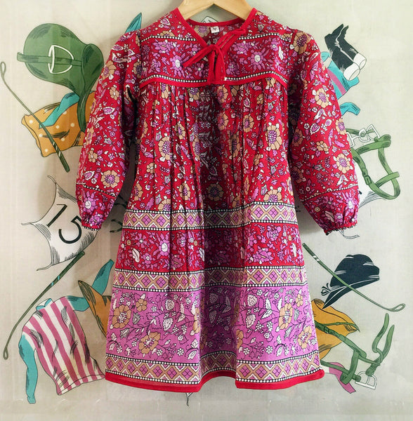 "Chowchilla Vintage Children's Indian Gypset Dress ""Asha"""