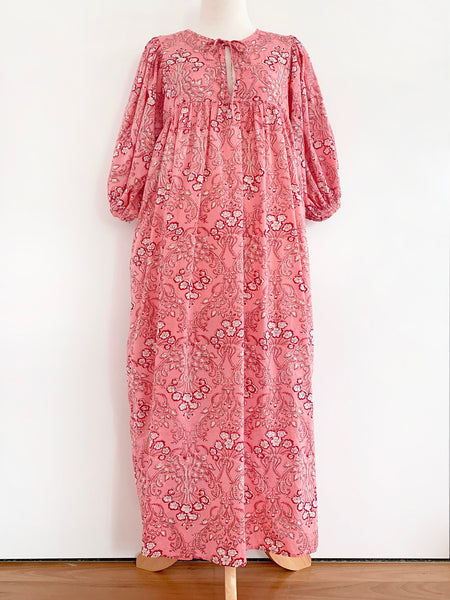 "Chowchilla Vintage Indian Bohemia Dress ""Arkie"" (Blush) • NEW"