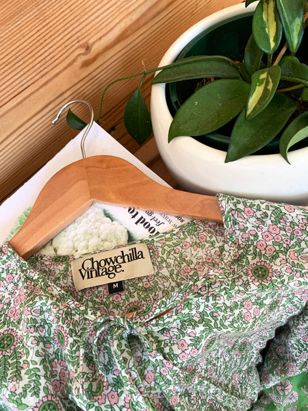 "Chowchilla Vintage Arkie Dress ""Clover"" • NEW"