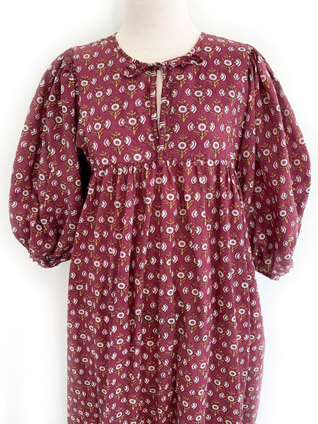 "Chowchilla Vintage Arkie Dress ""Plum"""