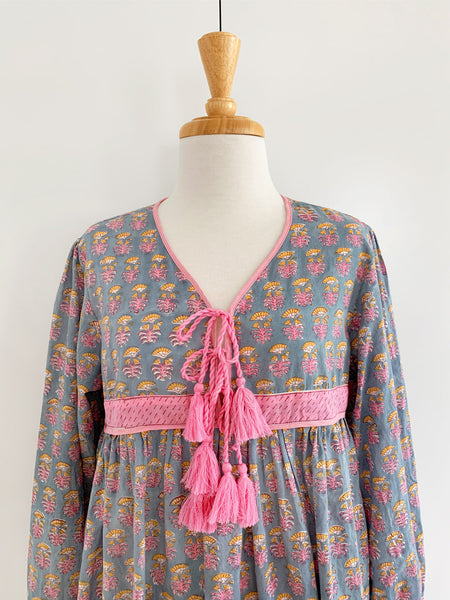 "Chowchilla Vintage Indian Gypset Dress ""Gracie"""