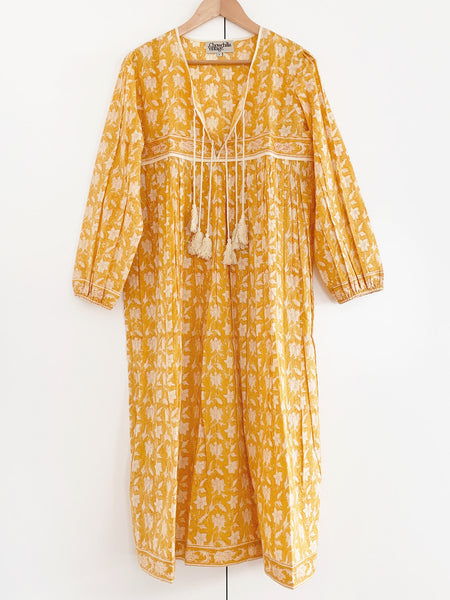 "Chowchilla Vintage Indian Gypset Dress ""Margot"""