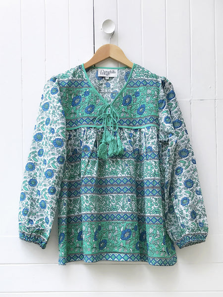 "Chowchilla Vintage Gypset Blouse ""Edie"" PARTIALLY STOCKED"