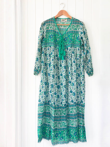 "Chowchilla Vintage Indian Gypset Dress ""Edie"" • LAST ONE (Size XS)"
