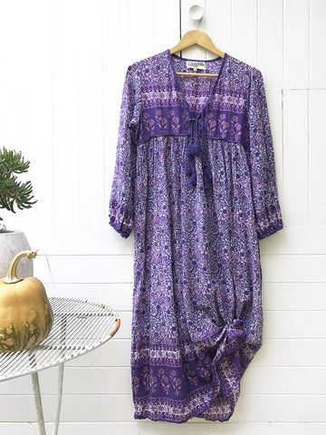 "Chowchilla Vintage Indian Gypset Dress ""Belle"""