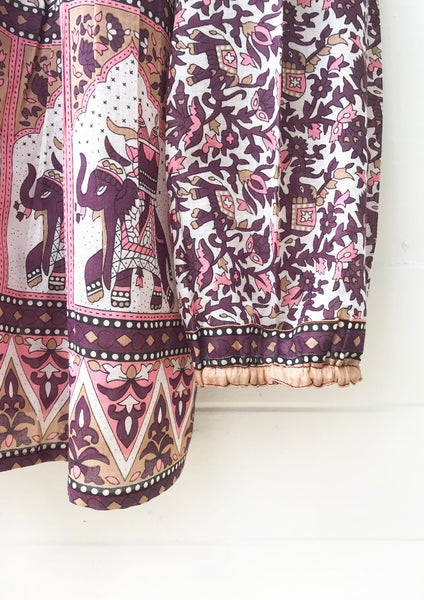 "Chowchilla Vintage Indian Gypset Blouse ""Lucky"""