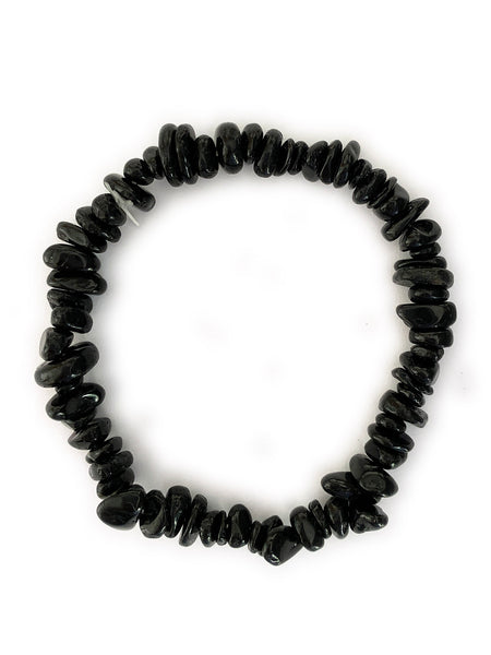 BLACK TOURMALINE Cleansing Crystal Bracelet • NEW