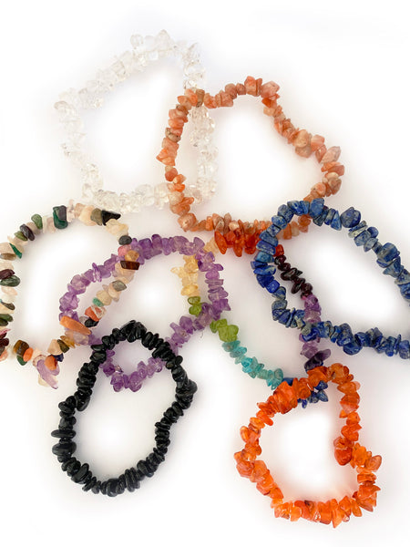CHAKRA Cleansing Crystal Bracelet • NEW