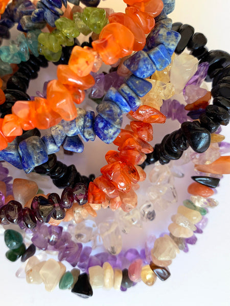 SUNSTONE Cleansing Crystal Chip Bracelet