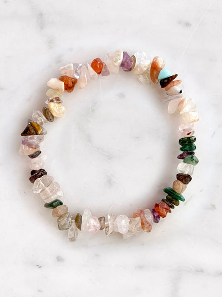 EARTH ANGEL Cleansing Crystal Bracelet
