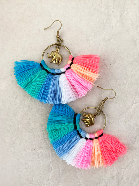 Galapagos Tassel Earrings