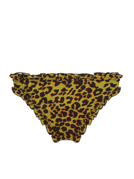 "Love Stories Intimates ""Lolita"" Briefs (Khaki Leopard • Size 2) BRAND NEW WITH TAGS"