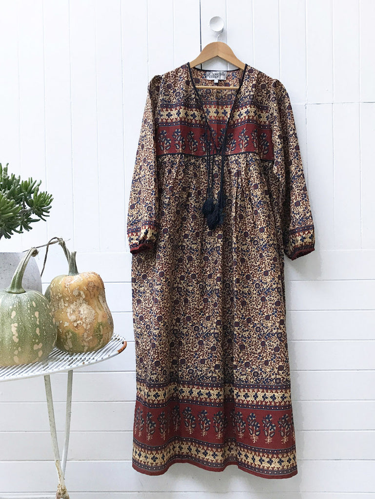 "Chowchilla Vintage Gypset Dress ""Manaya"" (Cotton) PARTIALLY STOCKED"