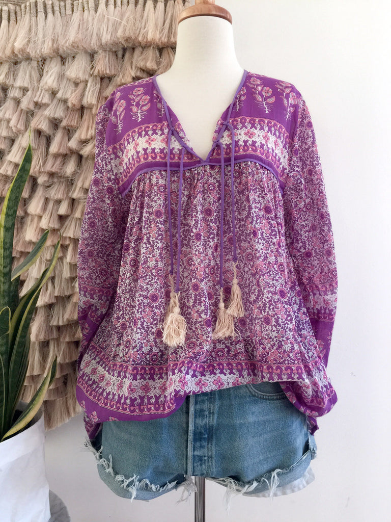 "Chowchilla Vintage Gypset Blouse ""Navaya"" PARTIALLY STOCKED"