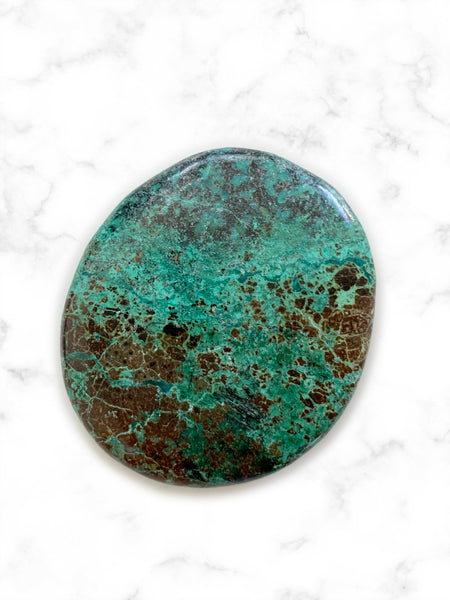 Palm Stone Crystal (African Turquoise) • NEW