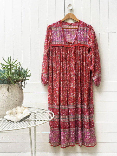 "Chowchilla Vintage Indian Gypset Dress ""Asha"""