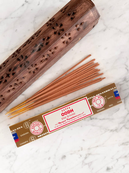 Satya Incense Sticks OODH (12 sticks • 15g)