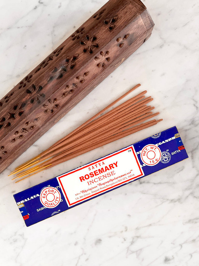 Satya Incense Sticks ROSEMARY (12 sticks • 15g)