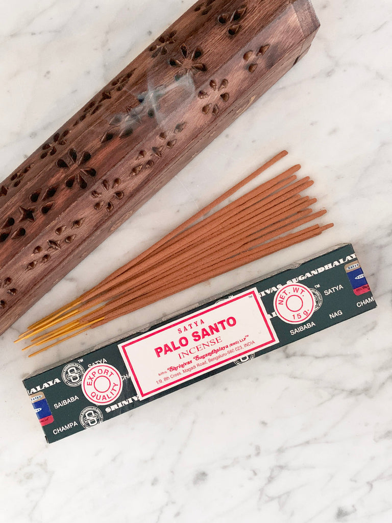 Satya Incense Sticks PALO SANTO (12 sticks • 15g)