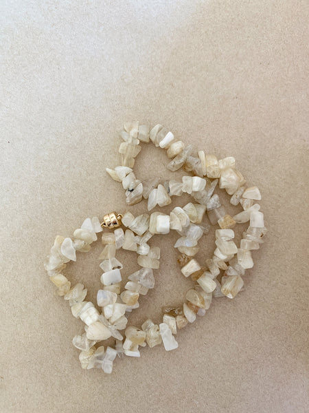 The Surfer Girl Necklace (Moonstone)