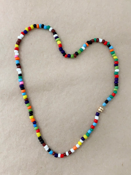 Kiss The Sky Beaded Necklace • NEW