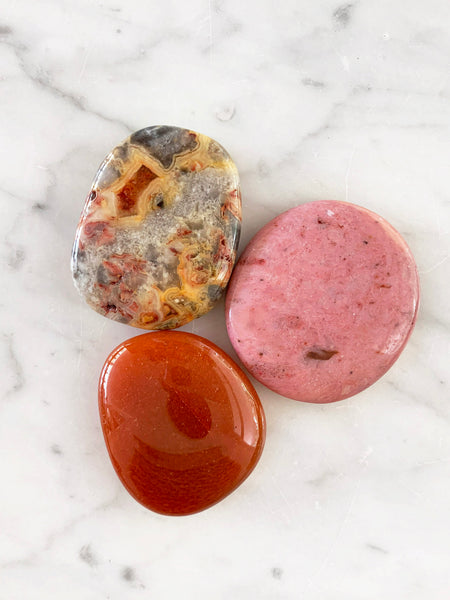 Palm Stone Crystal (Lace Agate)