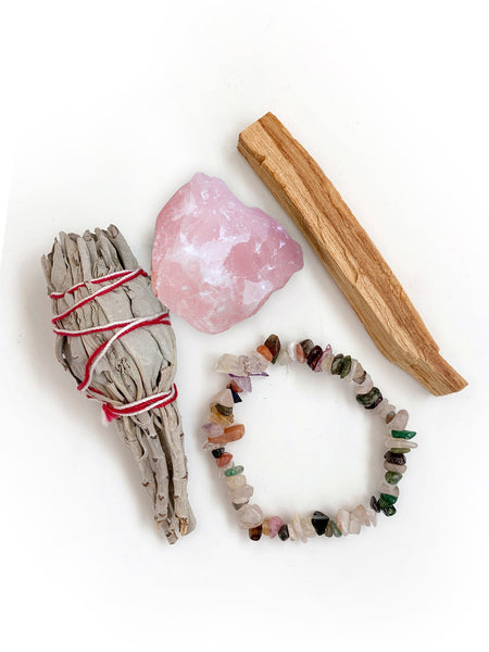 The 2020 ROSE QUARTZ Cleanse Kit