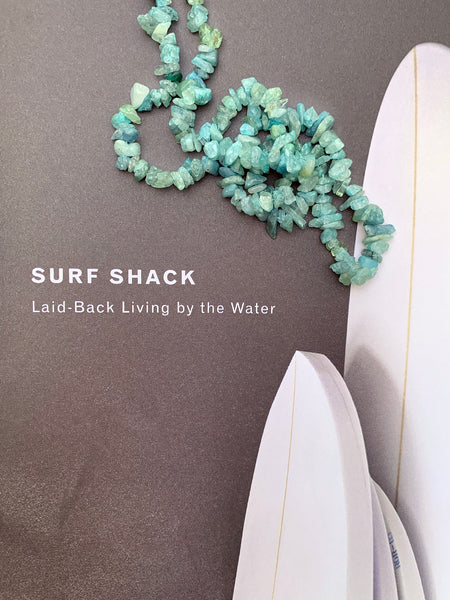 The Surfer Boy Necklace (Aquamarine)