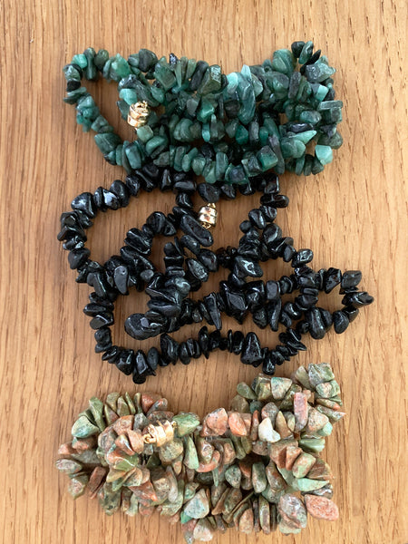 The Surfer Boy Necklace (Unakite) IN STOCK