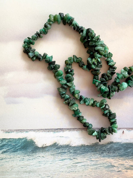The Surfer Boy Necklace (Emerald)