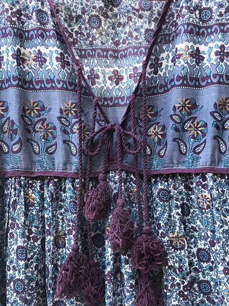 "Chowchilla Vintage Indian Gypset Blouse ""Donna"""