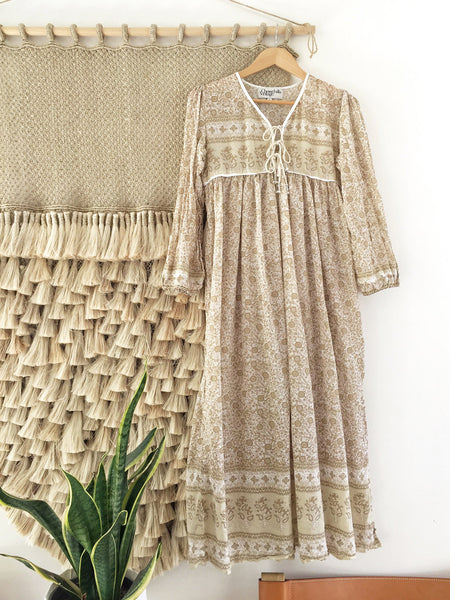 "Chowchilla Vintage Gypset Dress ""Ashanti"" PARTIALLY STOCKED"
