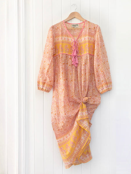 "Chowchilla Vintage Indian Gypset Dress ""Gaia"""