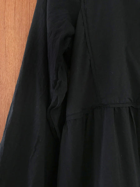 "Chowchilla Vintage Prairie Dress ""Black"""