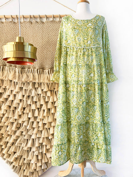 "Chowchilla Vintage Tiered Prairie Dress ""Sabine"""