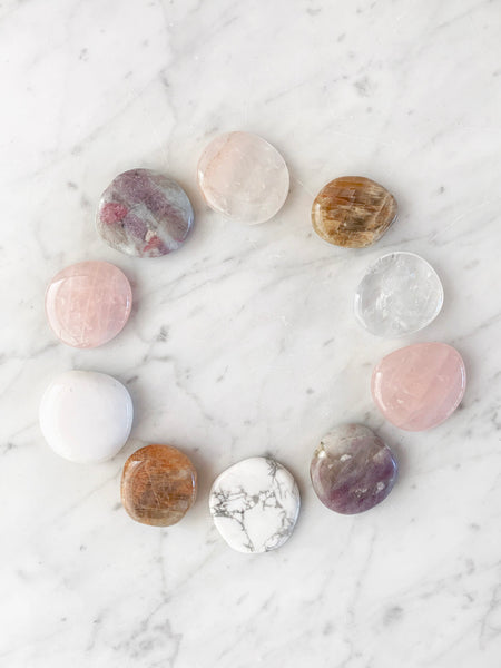 GODDESS Palm Stone Crystal Set (10 pieces) • LAST ONE