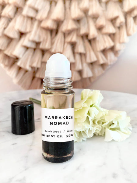 Crystal Infused Body Oil (MARRAKECH NOMAD) • 30ml