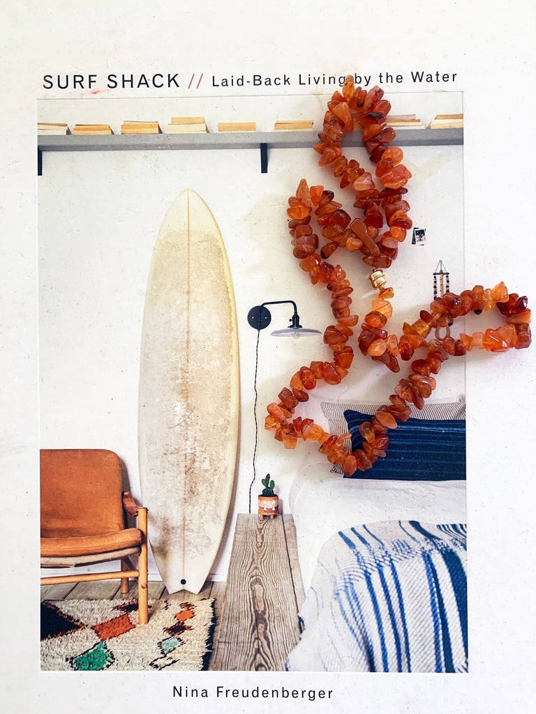 The Surfer Boy Necklace (Carnelian)