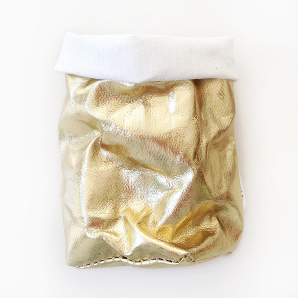 Uashmama Bag LARGE PLUS (Gold/White) • LAST ONE